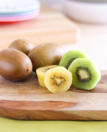 golden and green kiwis