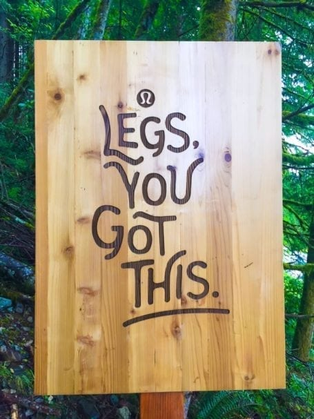 legs you got this - grouse grind