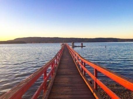boardwalk in salt spring