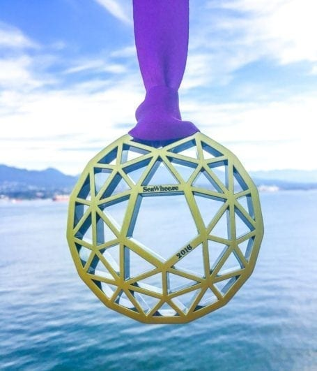 seawheeze 2016 finisher's medal