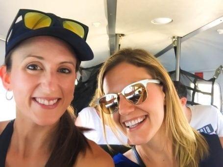harbour air flight tour selfie