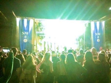 chromeo at sunset festival in stanley park