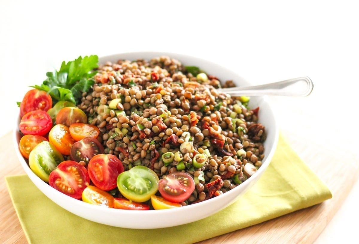 Oh She Glows Every Day - The Best Marinated Lentils Recipe