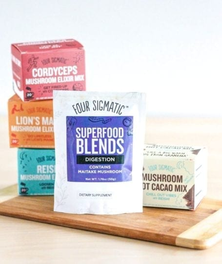 Four Sigmatic Superfood Blends - Eat Spin Run Repeat