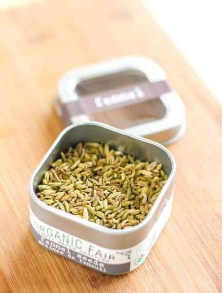 Organic fennel seeds - Eat Spin Run Repeat