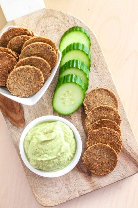 DIY Super Seed Grain-Free Crackers - Eat Spin Run Repeat