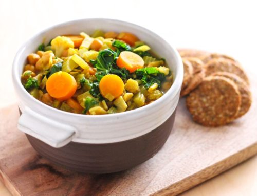 Golden Chickpea and Vegetable Soup