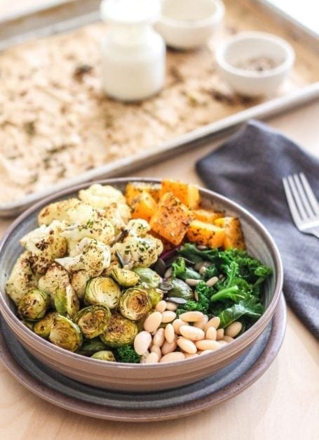 The Get Grounded Buddha Bowl - Eat Spin Run Repeat