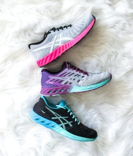 Asics FuzeX and FuzeX Lyte - Eat Spin Run Repeat Holiday Gift Guide for Fit Friends and Foodies