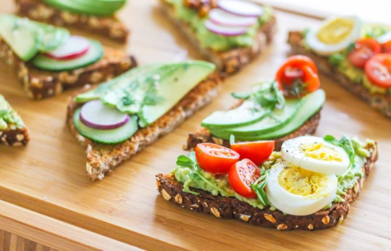 DIY Brunch Avocado Toast Bar - Eat Spin Run Repeat
