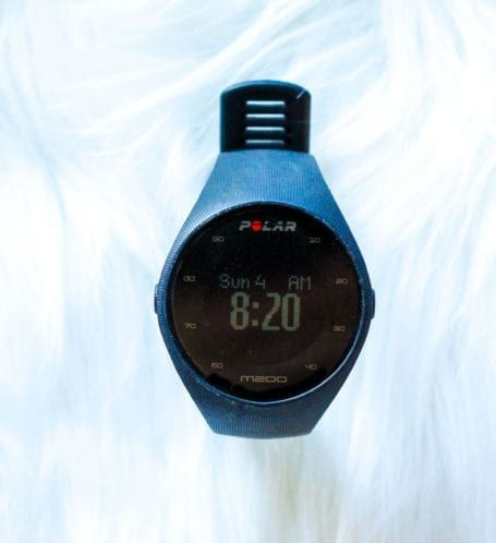 Polar M200 GPS Watch - Eat Spin Run Repeat Holiday Gift Guide for Fit Friends and Foodies