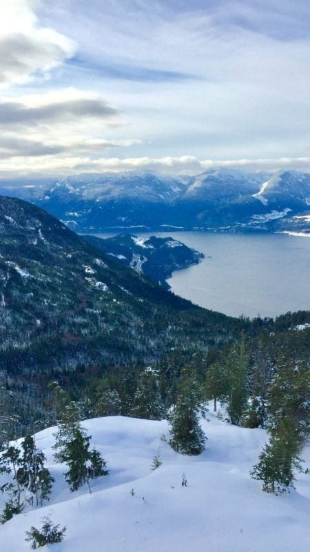 Sea to Sky Gondola - Christmas Day