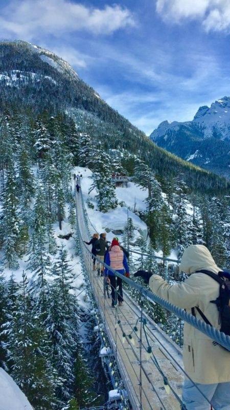 Sea to Sky Gondola - Christmas Day