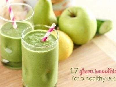 17 Green Smoothies for a Healthy 2017 - Eat Spin Run Repeat