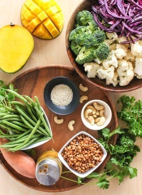 Vegan Bombay Buddha Bowl - Eat Spin Run Repeat