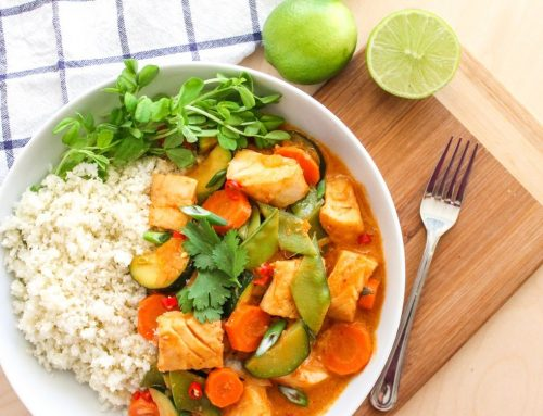 Thai Coconut Cod Curry