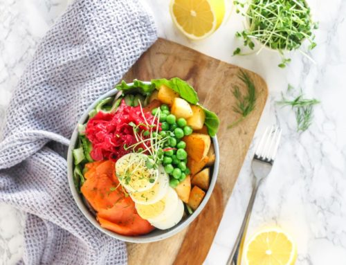 Hygge Herb Roasted Potato and Smoked Salmon Bowls