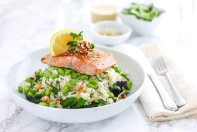 Mega Omega Salmon Bowls - Eat Spin Run Repeat