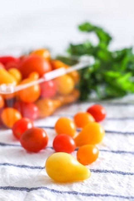 baby heirloom tomatoes