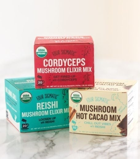 Four Sigmatic Mushroom Elixirs and Hot Cacao with Reishi - Eat Spin Run Repeat