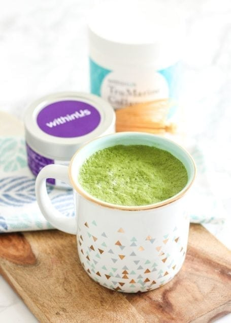 We are what we eat, and what we eat can greatly influence the radiance of our skin. This Beauty-Boosting Triple Berry Smoothie and Matcha Collagen Latte are 2 recipes for healthier skin that you can easily make in your own kitchen - via My Fresh Perspective || @myfreshperspective