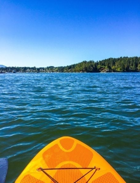 Paddleboarding in Salt Spring Island - Eat Spin Run Repeat