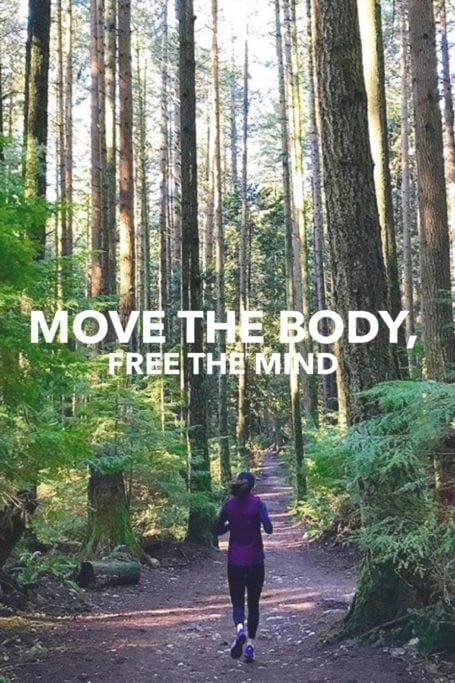 move the body, free the mind - eat spin run repeat