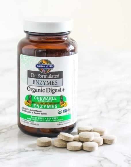 Garden Of Life Dr Formulated Enzymes Chewables - Eat Spin Run Repeat