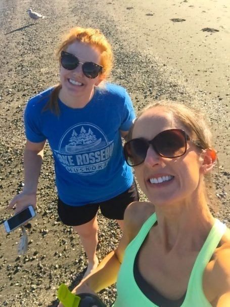 (That's one of my work besties, Jess. She's also one of my hiking buddies, one of my blog recipe taste testers, and generally a rad human being.)