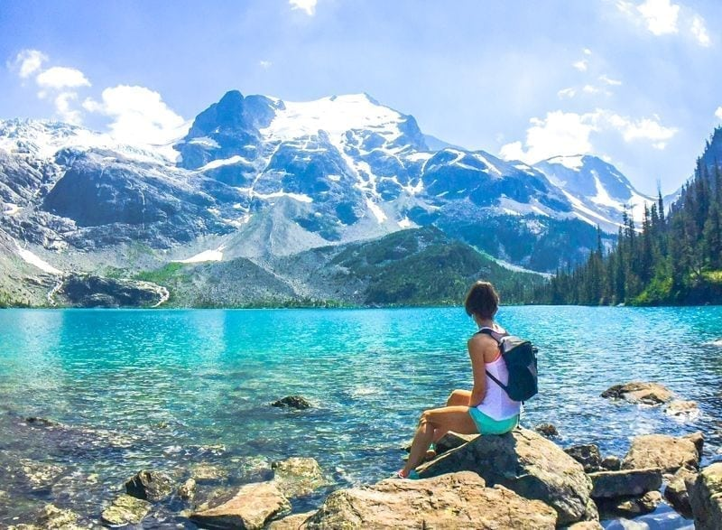 Hiking at Joffre Lakes Provincial Park - Eat Spin Run Repeat