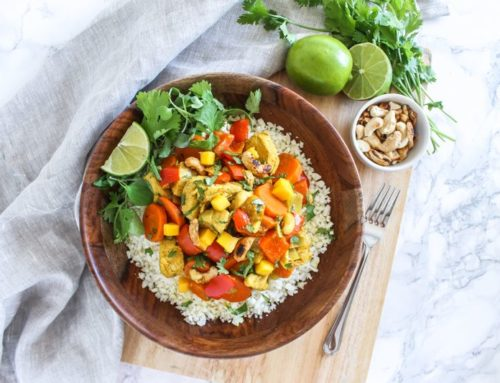 Coconut Mango Chicken Curry