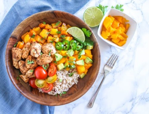 Mango Jerk Chicken Bowls