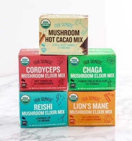 Four Sigmatic Mushroom Elixirs and Hot Cacao - Eat Spin Run Repeat