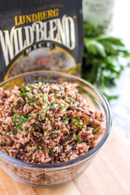 Chicken, Pear and Pecan Wild Rice Salad || gluten-free + dairy-free || Eat Spin Run Repeat