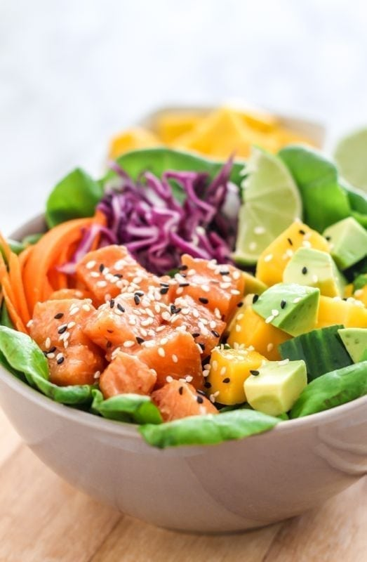 how to eat poke bowl