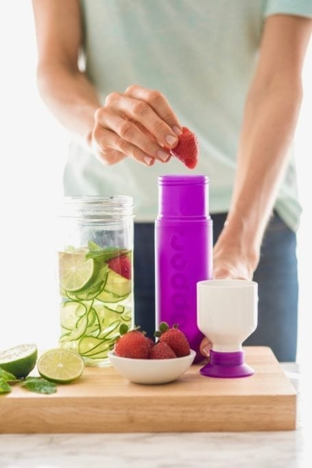 3 water infusions to make staying hydrated more delicious - Eat Spin Run Repeat