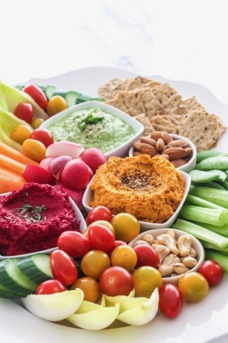 Chickpea-Free Hummus, 3 Ways: Beet + Ginger, Moroccan Carrot, Zucchini Lime    Paleo + vegan!    Eat Spin Run Repeat