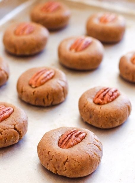 No-Bake Maple Pecan Cookie Dough Protein Bites - Eat Spin Run Repeat