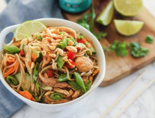 Thai Sweet Chilli Chicken Noodle Bowls