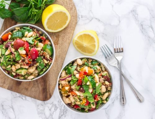 Tuscan Bean and Quinoa Salad