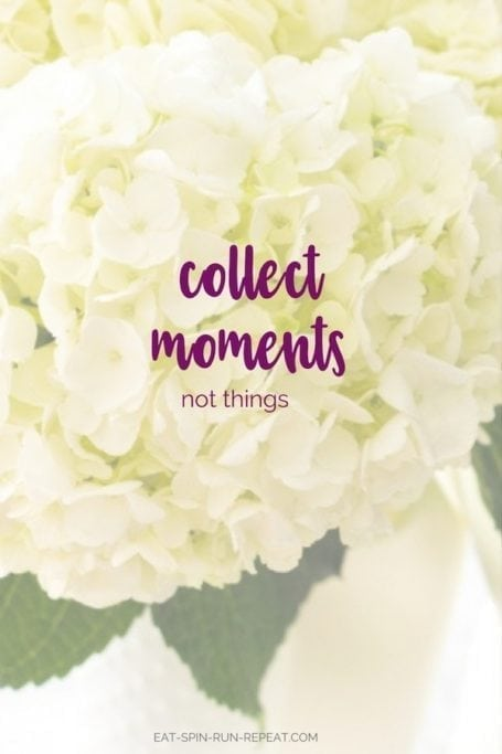 collect moments, not things || September 2017 Goal Check-In and 3 for October || Eat Spin Run Repeat
