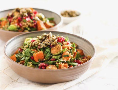Fall Gratitude Quinoa Salad