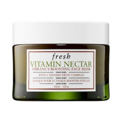 Fresh Vitamin Nectar Vibrancy-Boosting Face Mask - Natural Beauty Holiday Gift Guide - Eat Spin Run Repeat