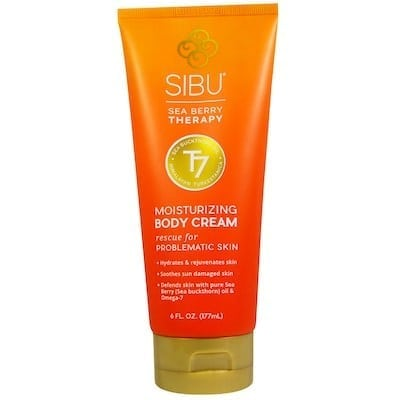 Sibu Moisturizing Body Cream - Natural Beauty Holiday Gift Guide - Eat Spin Run Repeat