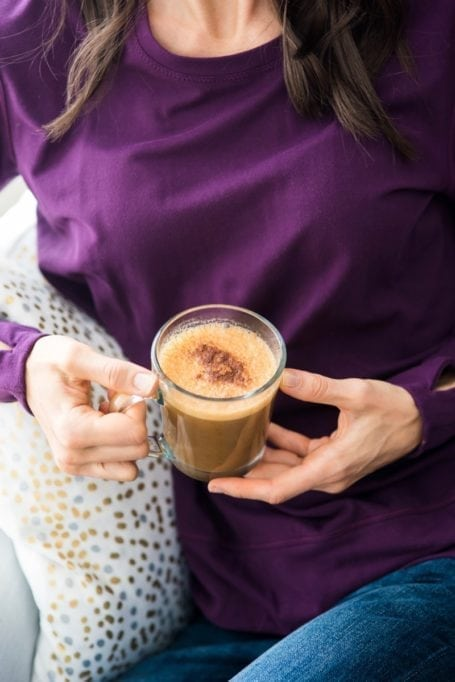 Skin-Nourishing Collagen Pumpkin Spice Latte    Eat Spin Run Repeat