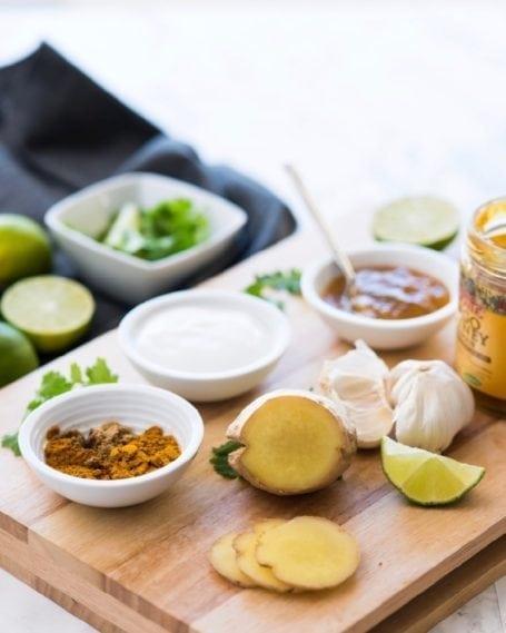 Healthy Baked Tandoori Chicken Drumsticks || #glutenfree #paleo || Eat Spin Run Repeat