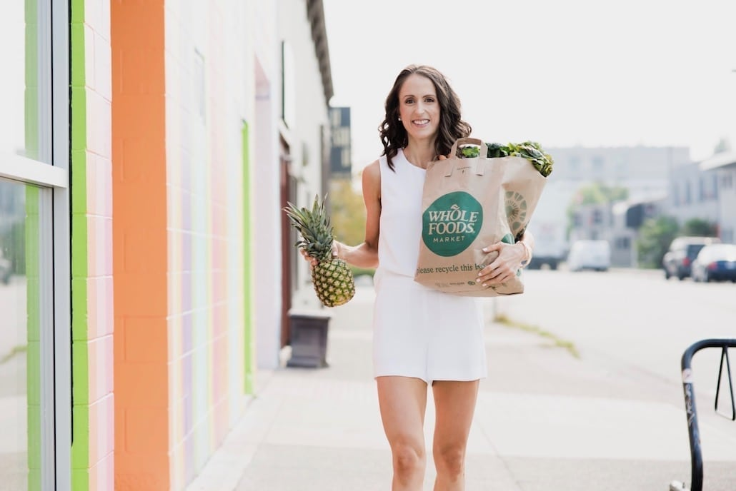 Angela Simpson - culinary nutrition expert, coach and blogger, Vancouver BC