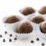No-Bake Chocolate Chip Brownie Bites || a healthy, protein-packed dessert that tastes like a brownie! || Eat Spin Run Repeat || #glutenfree #healthy #cleaneating