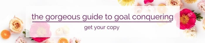 The Gorgeous Guide to Goal Conquering 2018 - get your copy!