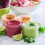 4 Better-Than-Hummus Veggie Dips | Balsamic Beet, Avocado Lime, Buffalo Cauliflower and Thai Red Curry Sweet Potato! | #antiinflammatory #vegan #paleo #lowsugar | Eat Spin Run Repeat